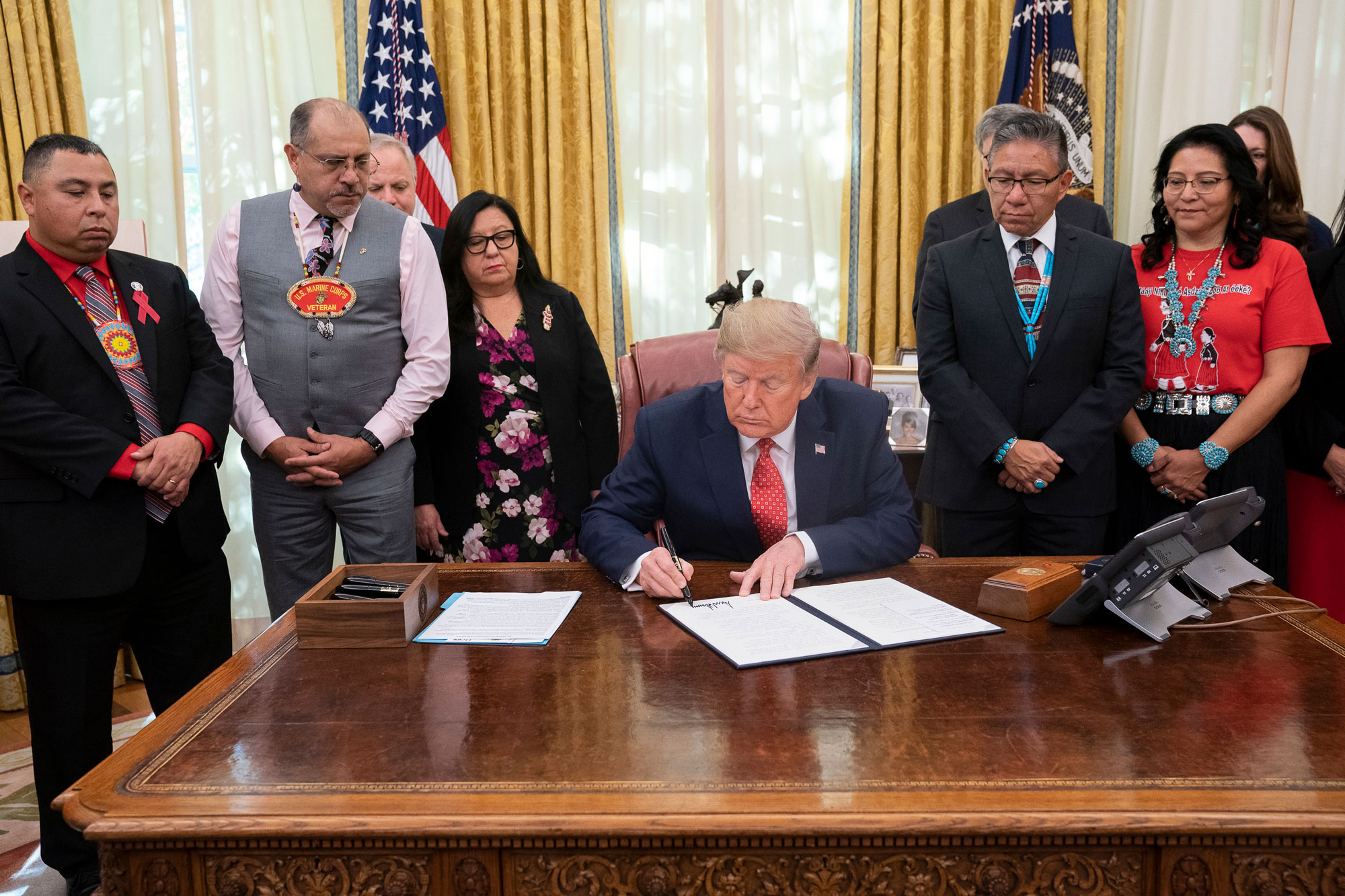 President Trump signs MM